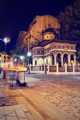 Stavropoleos church in Bucharest