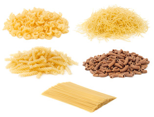 Pile of Uncooked Pasta