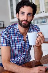 coffee man kitchen