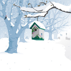 Winter Wonderland - Background