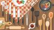 Food and cooking banner - 79710857