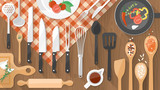 Food and cooking banner