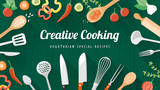Food and cooking banner - 79710864