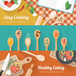 Food and cooking banner - 79711417