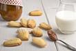 Madeleines - French orange flower scented biscuits