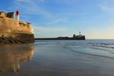 Entrée du port du Havre, France