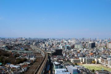 Landscape of Kita-ku, Tokyo