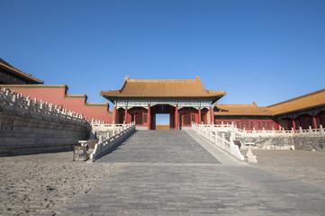 Gate tower in Forbidden City