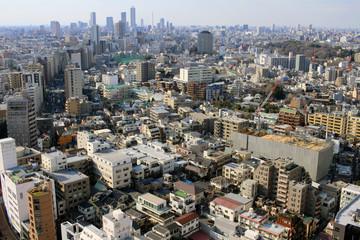 Landscape from Tokyo, Bunkyo-ku,