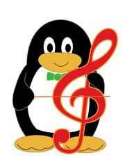 ペンギンの演奏