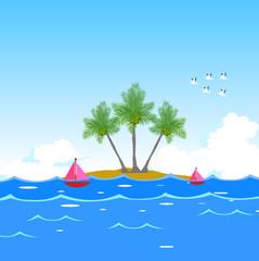 dream seawater background