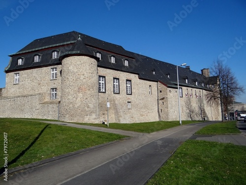 Leinwandbild Motiv Schloss Broich