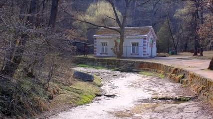 Small river Olhovka is in city Kislovodsk