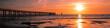 Leinwanddruck Bild - panorama estacade Noirmoutier