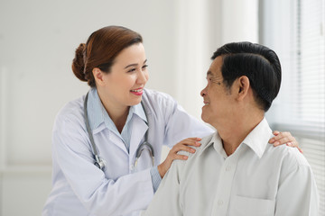 Reassuring a patient