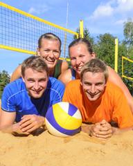 Teamsport Beachvolleyball
