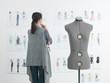 fashion designer at work - 79725804