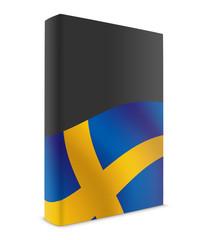 Sweden book cover flag black