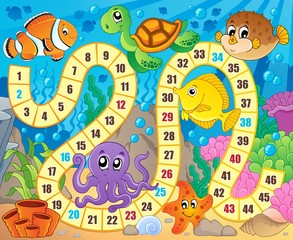Board game image with underwater theme 1