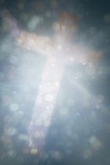 Composite image of cross