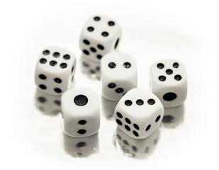 Six casino dices