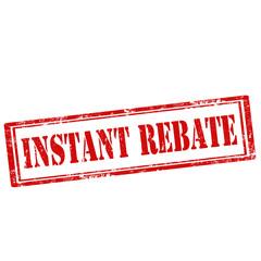 Instant Rebate-stamp