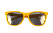 Yellow sun glasses isolated - 79735009