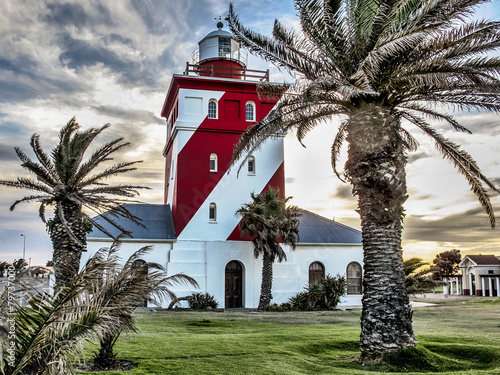 Plexiglas Vuurtoren / Mill Green point light house in Cape Town