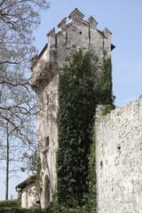 Torre di guardia, Castello di Presule