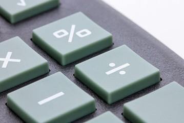 Taschenrechner - Detailaufnahme