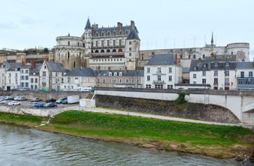 Amboise town spring view (France)