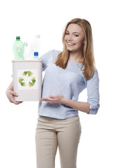 You can be eco-friendly and start the waste sorting