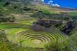 canvas print picture - Ruinen von Moray in Peru