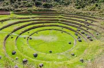 Ruinen von Moray in Peru