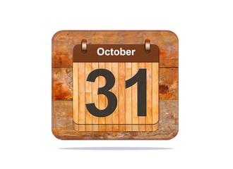 October 31.