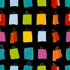Shopping bags seamless