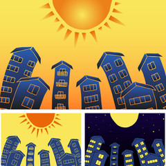 sunny town houses