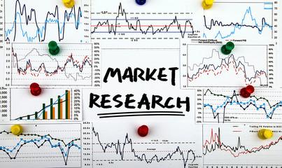 market research handwritten on whiteboard