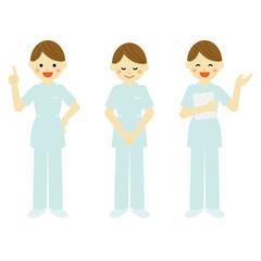 看護師  / vector eps10