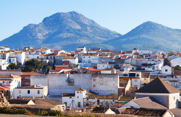 Old andalusian town.  Alcaudete