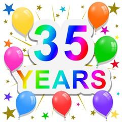 35 Years anniversary