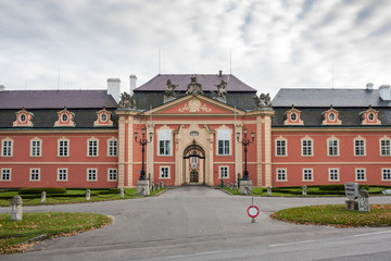 Chateau Dobris, Europe, Czech Republic
