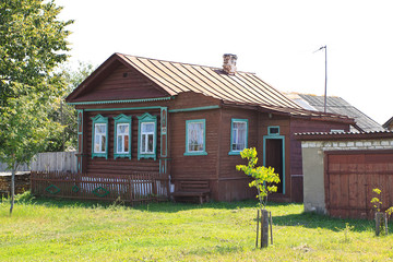 old rural house in Russia