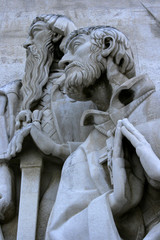 Monument to the discoveries - Henry the Navigator in Lisbon