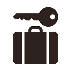 Baggage storage - travel icon