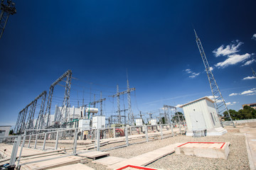 production of electricity substation