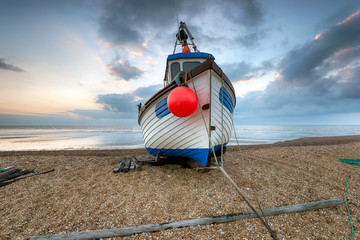 Fishing Boat on the Beach in Kent