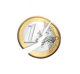 Euro zerbrochen