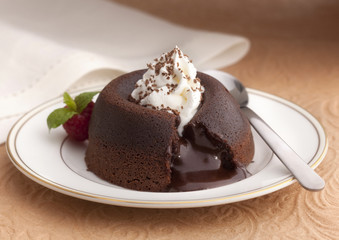 Melted Chocolate Dessert
