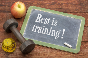 rest is training